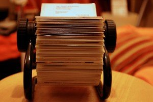 """Rolodex"" by Ged Carroll"